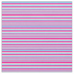 [ Thumbnail: Deep Pink, Light Sky Blue, and Light Cyan Pattern Fabric ]