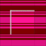 [ Thumbnail: Deep Pink & Maroon Colored Lines/Stripes Pattern Fabric ]