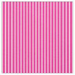 [ Thumbnail: Deep Pink & Mint Cream Striped/Lined Pattern Fabric ]