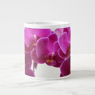 Deep Pink Orchids Jumbo Mug