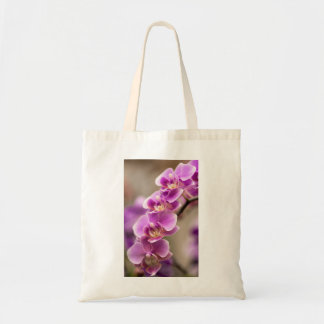 Deep Pink Phalaenopsis Orchid Flower Chain Tote Bag