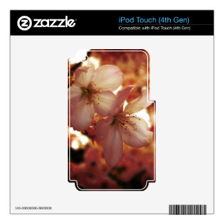 Deep Pink Decals For iPod Touch 4G