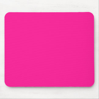 Deep Pink Solid Color Mousepads