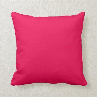 Deep Pink Textured Throw Pillow Pillows