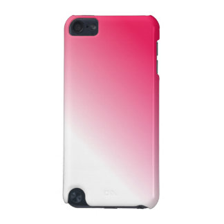 Deep Pink White Ombre iPod Touch 5G Cover