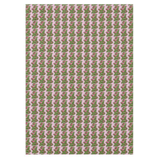 Deep Pink Wild Roses Tablecloth