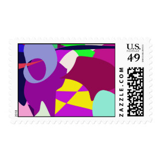 Deep Postage Stamp