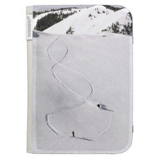 Deep Powder Kindle Folio Cases