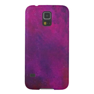 Deep Purple And Gold Modern Abstract Art Painting Galaxy S5 Cover