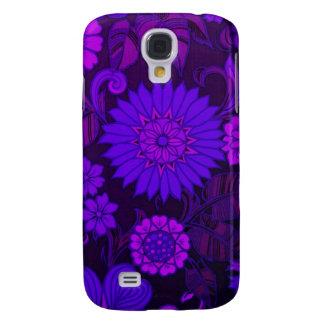 Deep Purple Art Deco Design Samsung Galaxy S4 Case