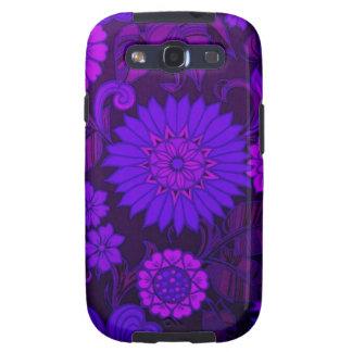 Deep Purple Art Deco Design Galaxy SIII Cover