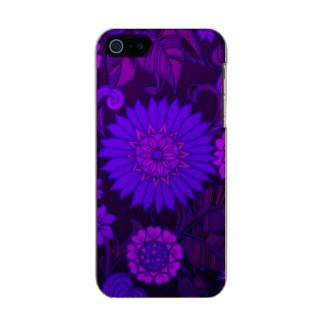 Deep Purple Art Deco Design Incipio Feather® Shine iPhone 5 Case