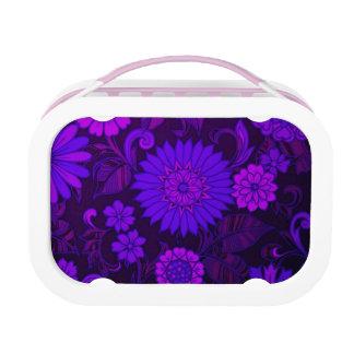 Deep Purple Art Deco Design Yubo Lunchbox