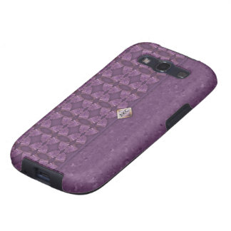 Deep Purple Clutch Bag Galaxy S3 Cases