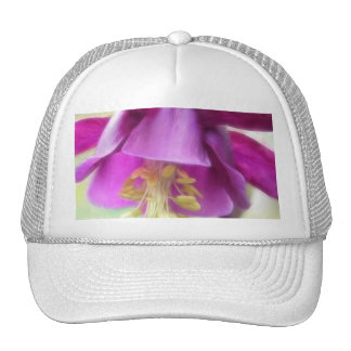 Deep Purple Columbine (Aquilegia) Petals Trucker Hat