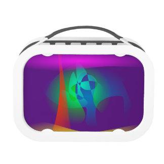 Deep Purple Contrast Yubo Lunchbox