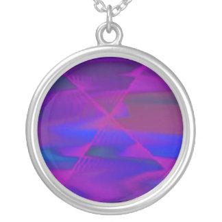 Deep purple custom necklace