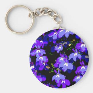 Deep Purple Delight Keychain