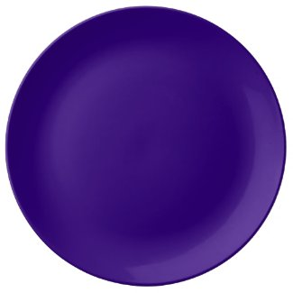 Deep Purple Dinner Plate