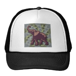 Deep Purple Elephant Too Trucker Hat