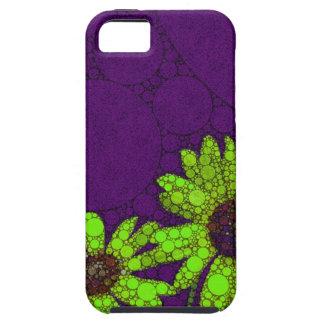 Deep Purple Florescent Sunflowers iPhone SE/5/5s Case
