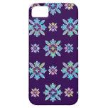 Deep Purple Hawaiian Quilt Pattern Case iPhone 5 Covers