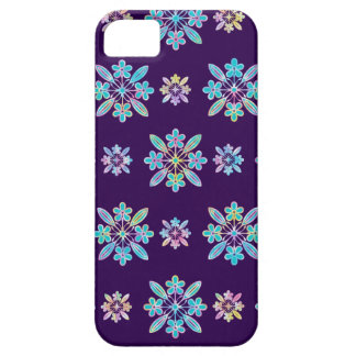Deep Purple Hawaiian Quilt Pattern Case iPhone 5 Covers