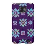 Deep Purple Hawaiian Quilt Pattern Case Galaxy S2 Case