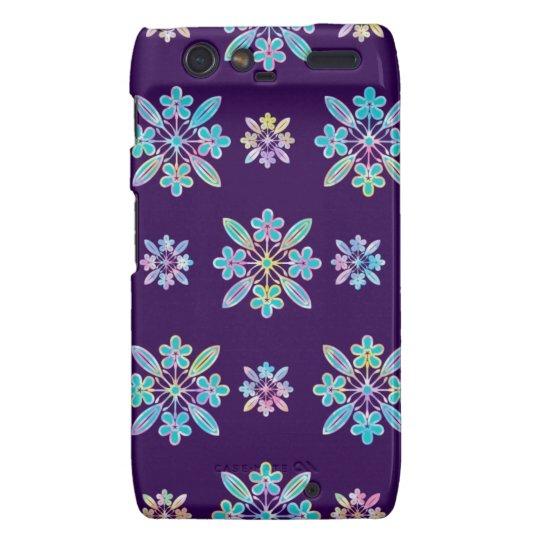 Deep Purple Hawaiian Quilt Pattern Case