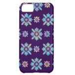 Deep Purple Hawaiian Quilt Pattern Case iPhone 5C Covers