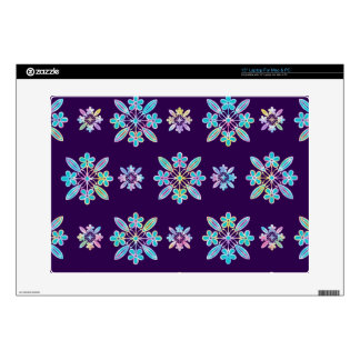 "Deep Purple Hawaiian Quilt Pattern Case 15"" Laptop Skins"
