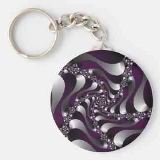 Deep Purple Keychains