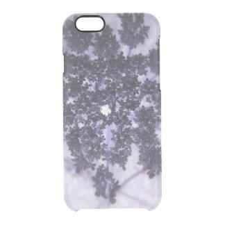 Deep Purple Lilacs Clear iPhone 6/6S Case