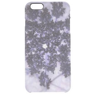 Deep Purple Lilacs Clear iPhone 6 Plus Case