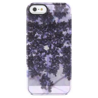 Deep Purple Lilacs Clear iPhone SE/5/5s Case