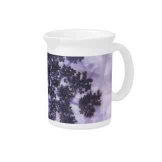 Deep Purple Lilacs Drink Pitcher