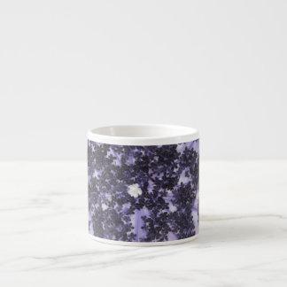 Deep Purple Lilacs Espresso Cup