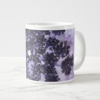 Deep Purple Lilacs Giant Coffee Mug