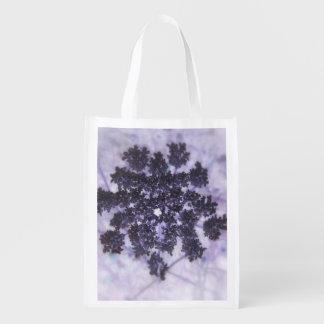 Deep Purple Lilacs Grocery Bag