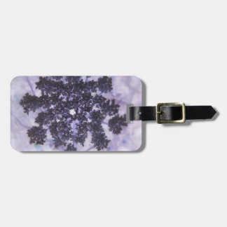 Deep Purple Lilacs Luggage Tag
