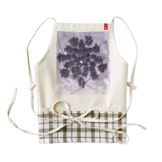 Deep Purple Lilacs Zazzle HEART Apron