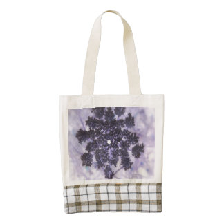 Deep Purple Lilacs Zazzle HEART Tote Bag