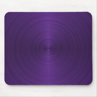 Deep Purple Metallic Mouse Pad