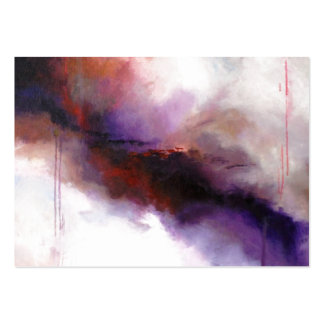 Deep Purple Modern Abstract (Kimberly Turnbull Art Business Card Template