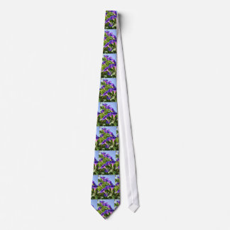Deep Purple Morning Glory Climbing Plant Tie