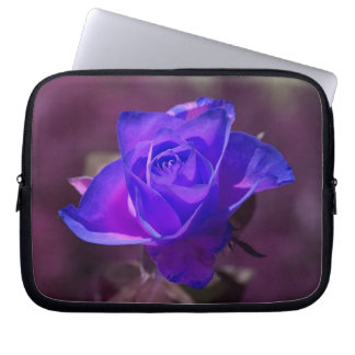 Deep Purple N Pink Rose Lapstop Sleeve Computer Sleeve