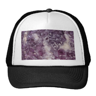 Deep Purple Quartz Crystal Trucker Hat