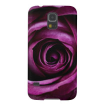 Deep Purple Rose Case For Galaxy S5