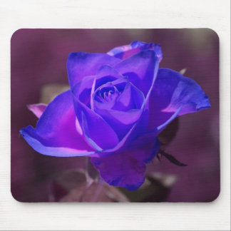Deep Purple Rose mouse pad