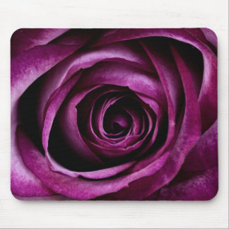 Deep Purple Rose Mouse Pad